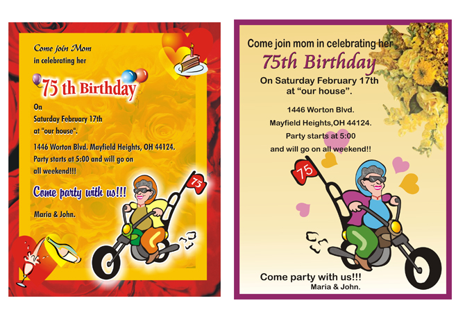 KingkaewNaja Unit Invitation - Contoh soal invitation birthday party